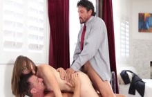 Nickey Huntsman getting a hard DP